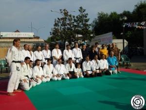 Manifestazione Aikido del Dojo Osaka al Goshin Jitsu - Sarzana (SP) 3 Luglio 2010
