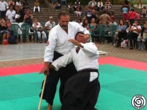Dimostrazione Aikido - Sarzana (SP) 29 Settembre 2011