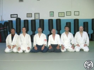 In visita al Maestro G. Simoni - La Spezia, Aprile 2009